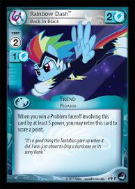 My Little Pony Rainbow Dash, Back in Black High Magic CCG Card