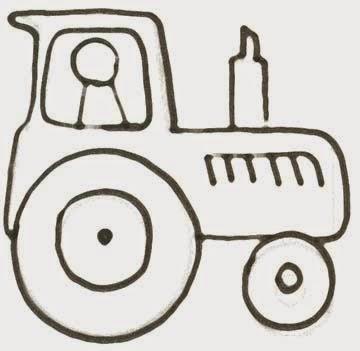 malvorlagen traktoren kostenlos