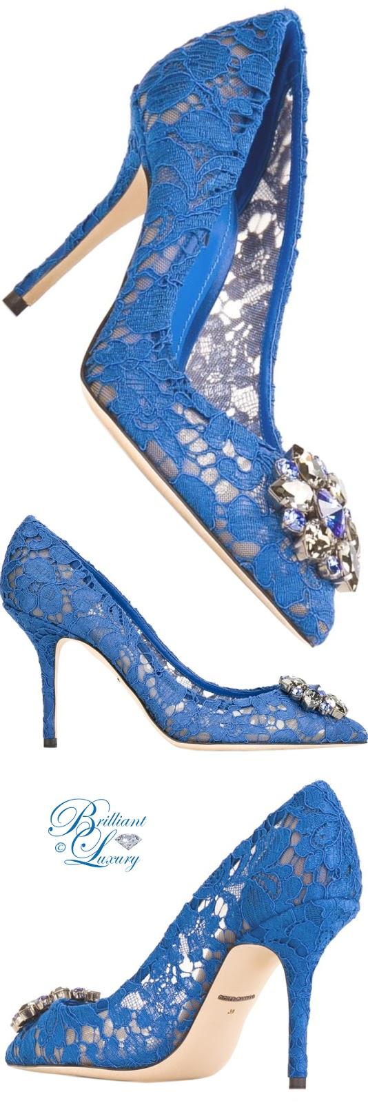 Brilliant Luxury ♦ Dolce & Gabbana Belluci Pumps