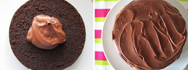 Devil's food cake (Siempredulces) - Elaboración Paso 4