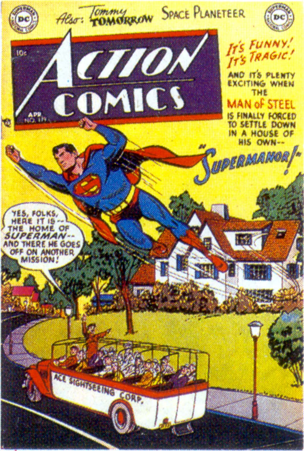 Read online Action Comics (1938) comic -  Issue #179 - 1
