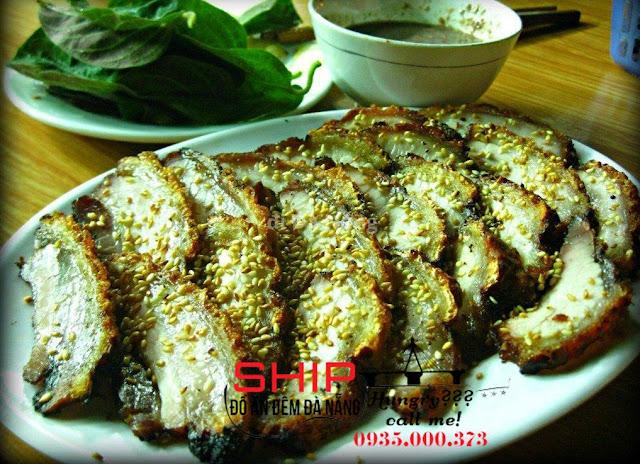 Ba chi nuong - Ship do an dem Da Nang