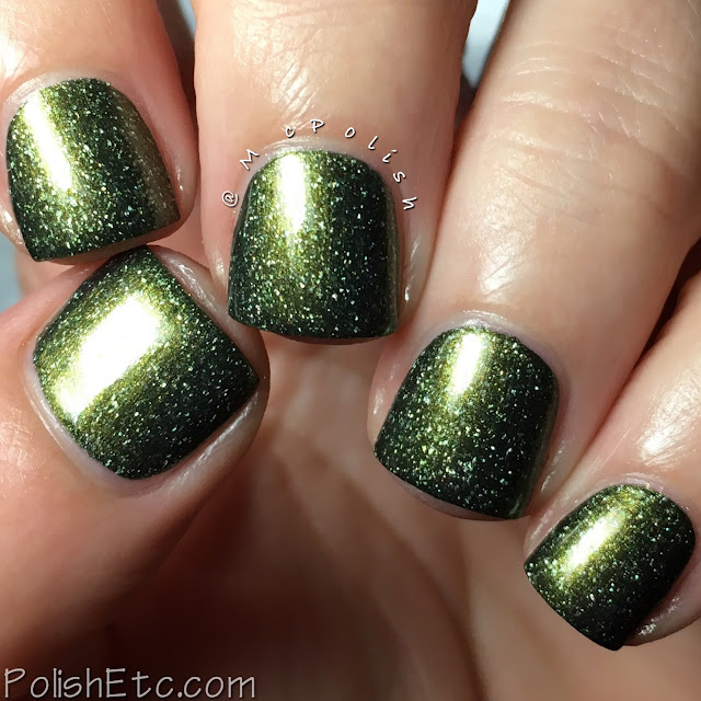 KBShimmer - Fall 2017 Blogger Collaboration Collection - McPolish - Olive Or Twist