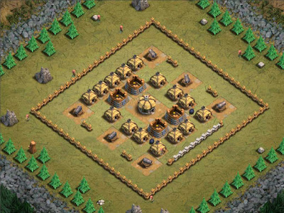 Goblin Base Clash of Clans Gobbotown
