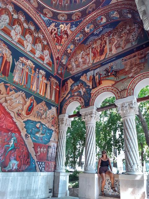 Igreja Nova de São Jorge, em Bucareste. Romênia.