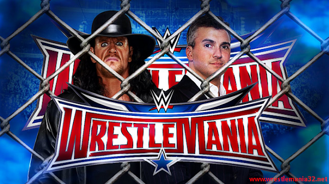 Undertaker VS Shane McMahon (hell in the Cell) Wrestlemania 32 Matches 2016