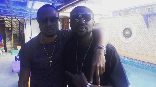 Faze Alone hangs out with Black Face Naija