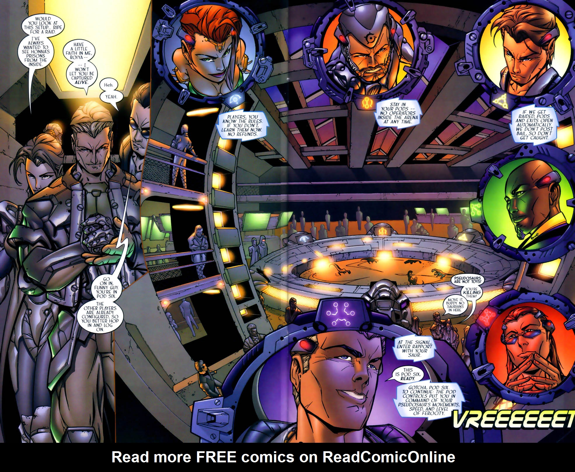 Read online Sigil (2000) comic -  Issue #1 - 7