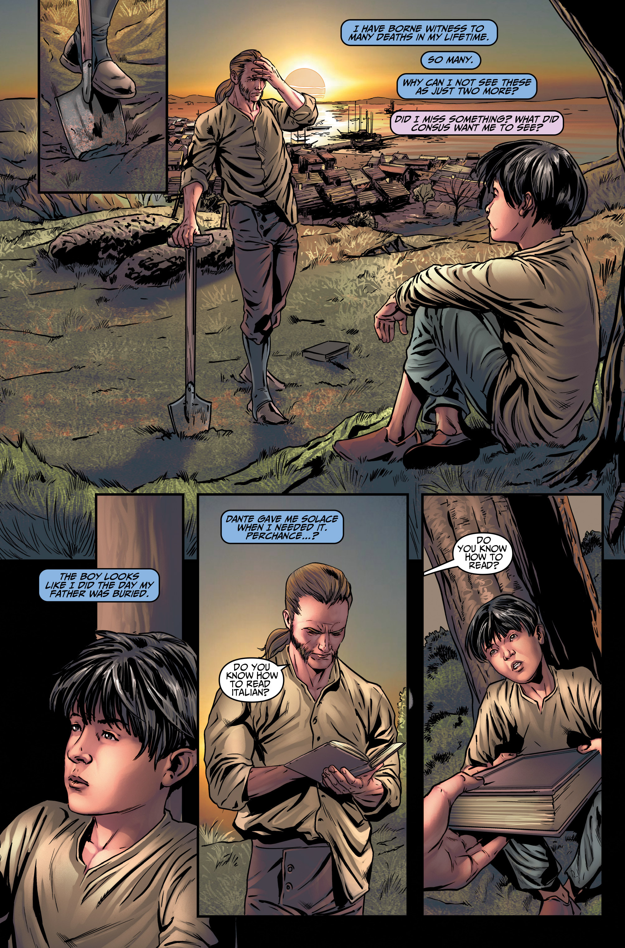 Read online Assassin's Creed (2015) comic -  Issue #4 - 22