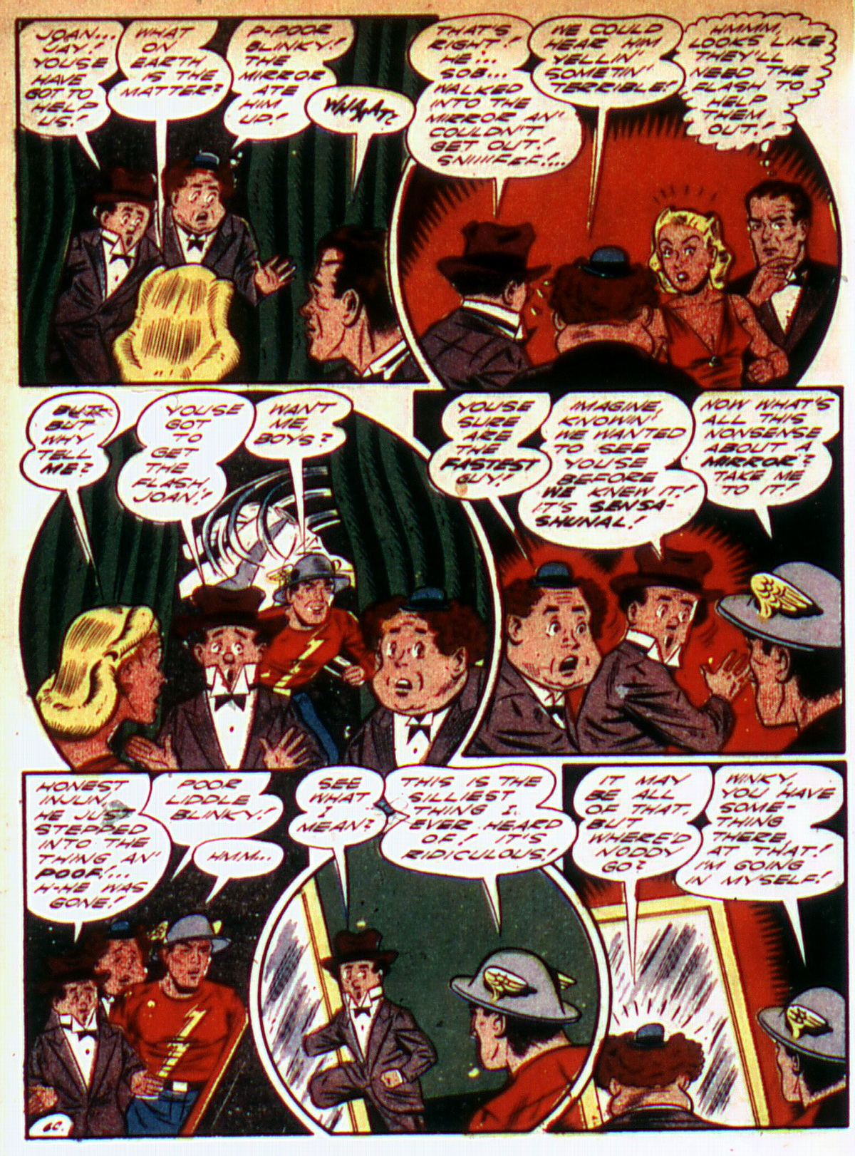 Read online All-Flash comic -  Issue #9 - 38