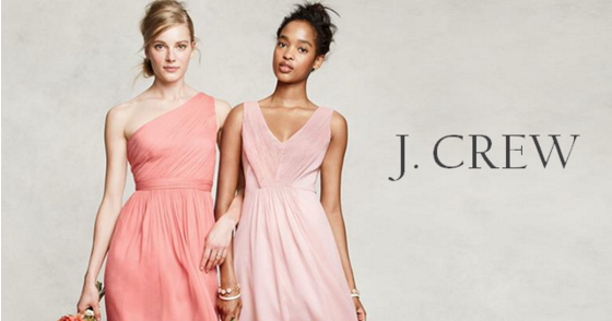 J.Crew Bridesmaid Dresses!