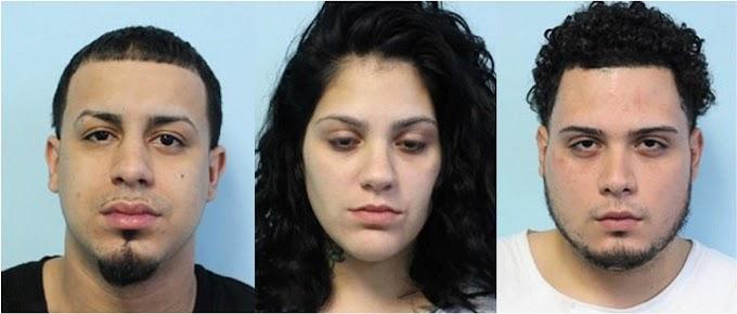 Dominicanos y dominicana detenidos con 100 bolsas de heroína en una casa de Massachusetts