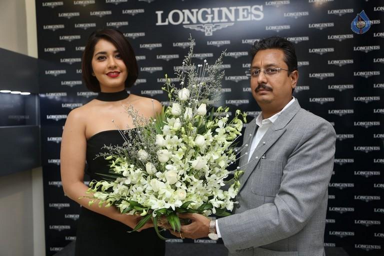 Raashi Khanna Latest Hot Legs & Topless Pics In Black Dress