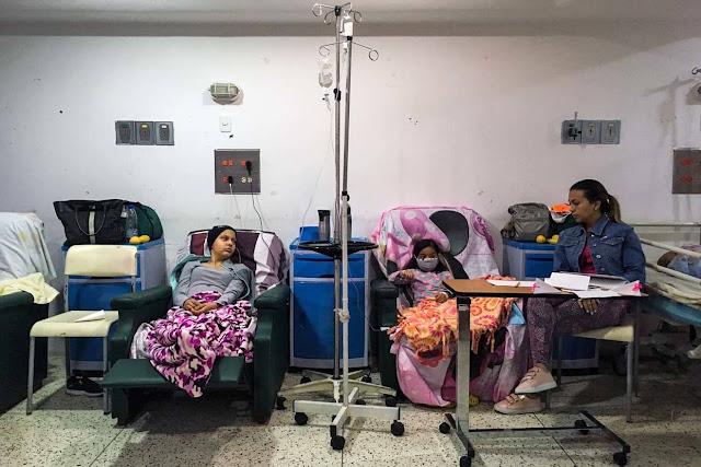 Niños, los más afectados de la crisis de salud en Venezuela