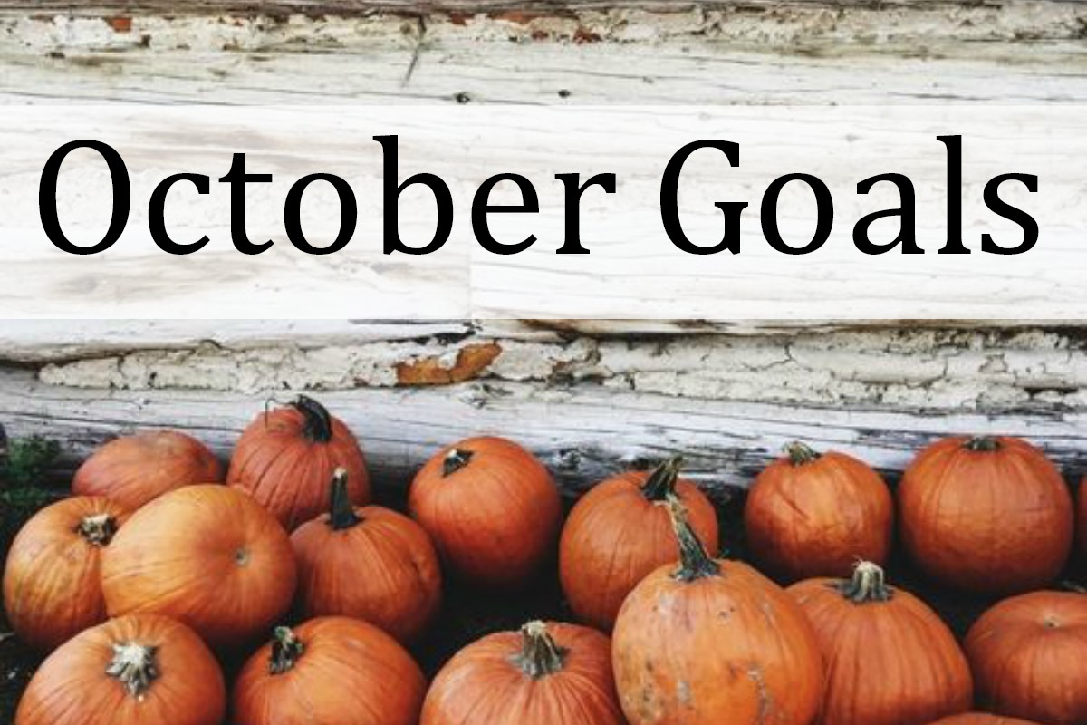 October Goals   kathleenhelen