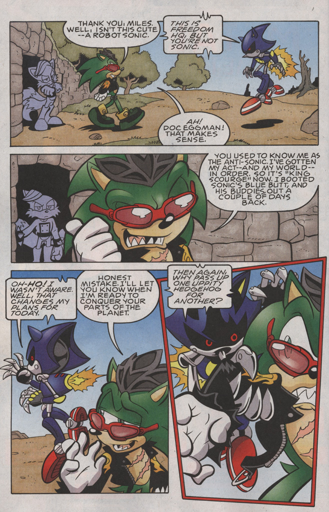 Read online Sonic The Hedgehog comic -  Issue #191 - 3