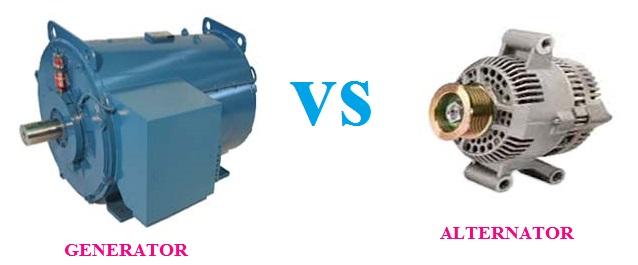 Difference between generator and alternator Full explanation, generator vs alternator