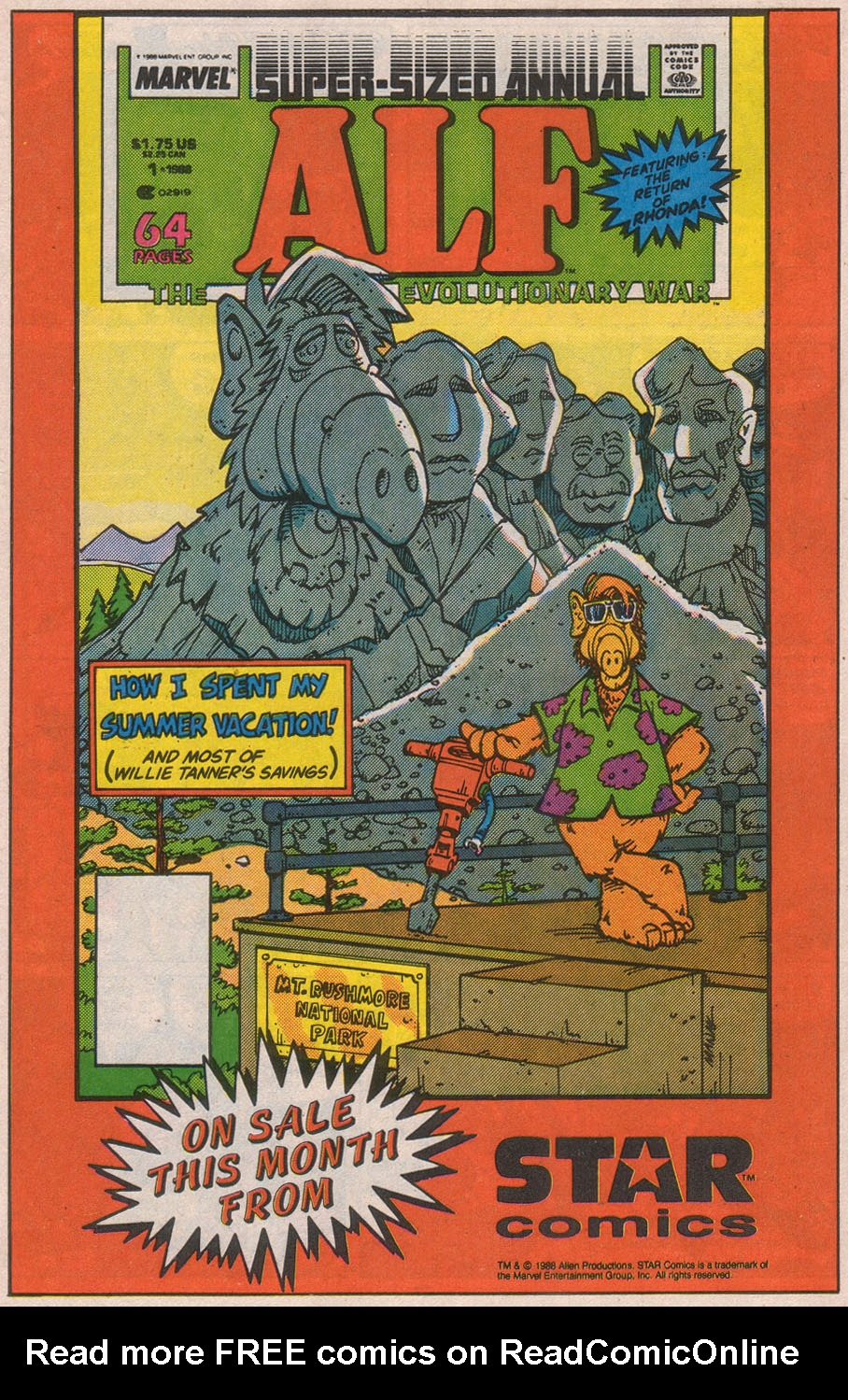 Read online ALF comic -  Issue #8 - 30