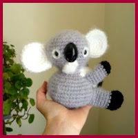 Mini koala amigurumi