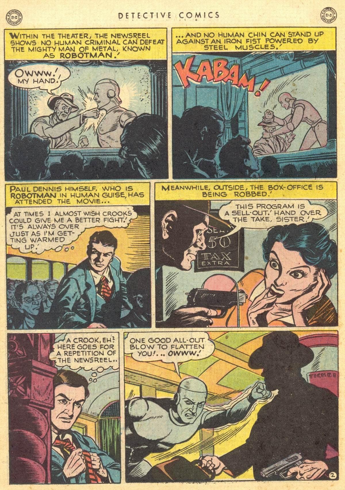 Read online Detective Comics (1937) comic -  Issue #150 - 17