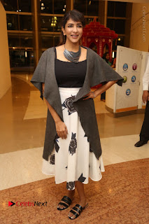Actress Lakshmi Manchu Pos at Asian Para Badminton Championship Winners Felicitation Ceremony  0076.JPG