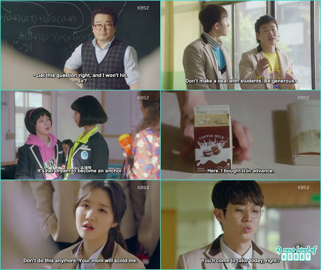Dong man & choi era in high school - Fight for my Way: Episode 1 korean Drama