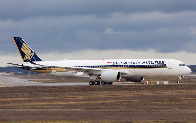 Singapore Airlines Airbus A350-900 Rejected Takeoff