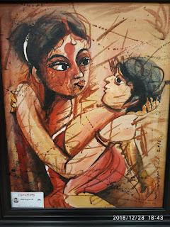 bankura district art show 2018,bankura chitro mela,bankura art exhibition