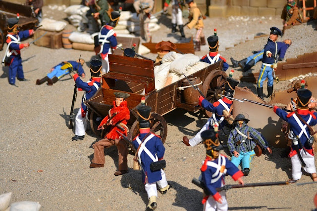 Madelman diorama Batalla de El Álamo