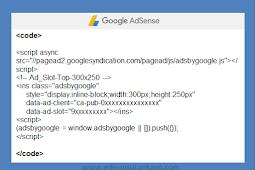 Cara Mengamankan Script Code Google Adsense