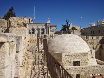 Walking in the ramparts of Jerusalem