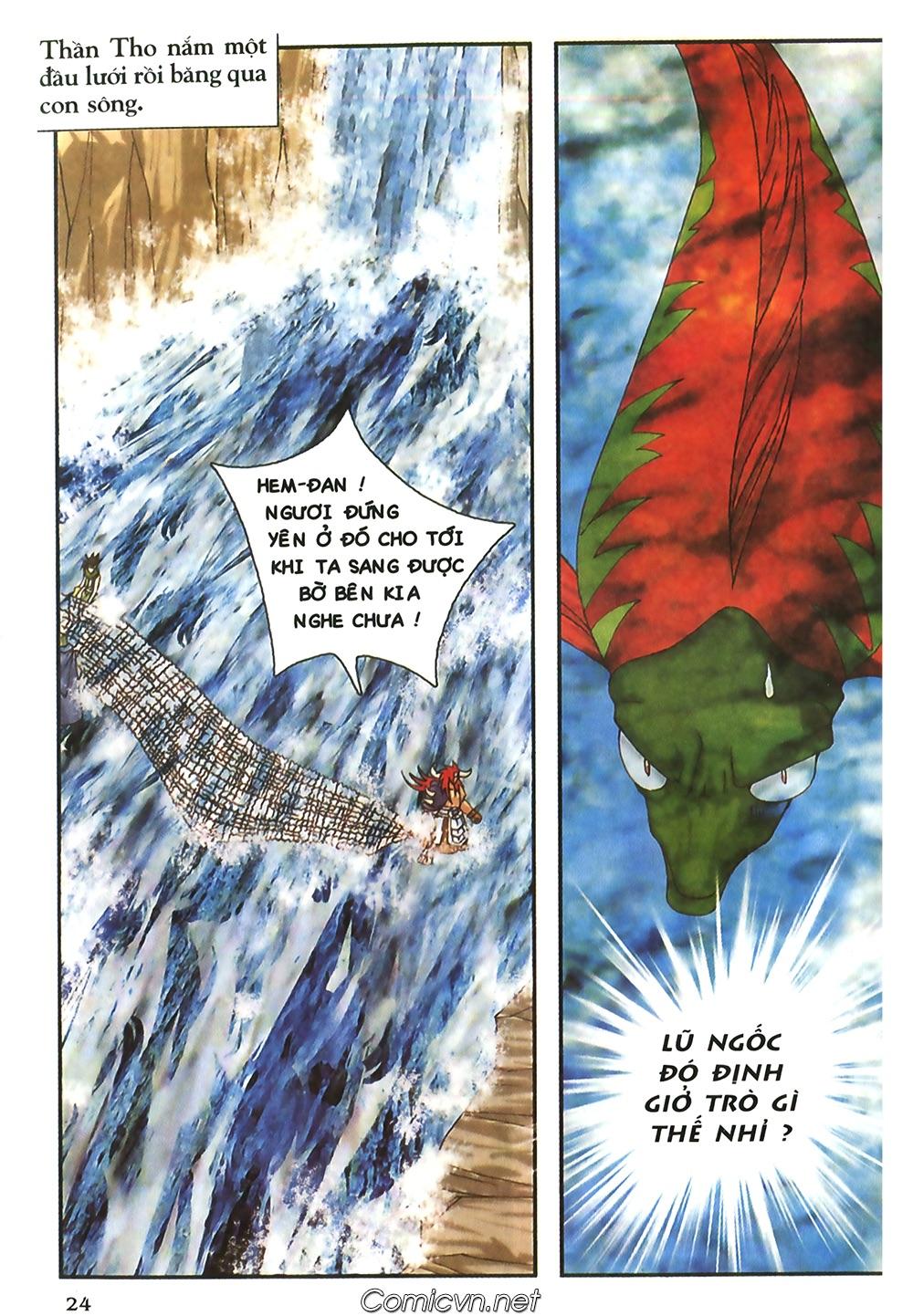 Thần thoại Bắc Âu - Chapter 47: Gieo gió gặt bão - Pic 25