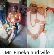 Mr emeka and is wife