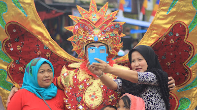 Kemeriahan Garut Intan Carnival