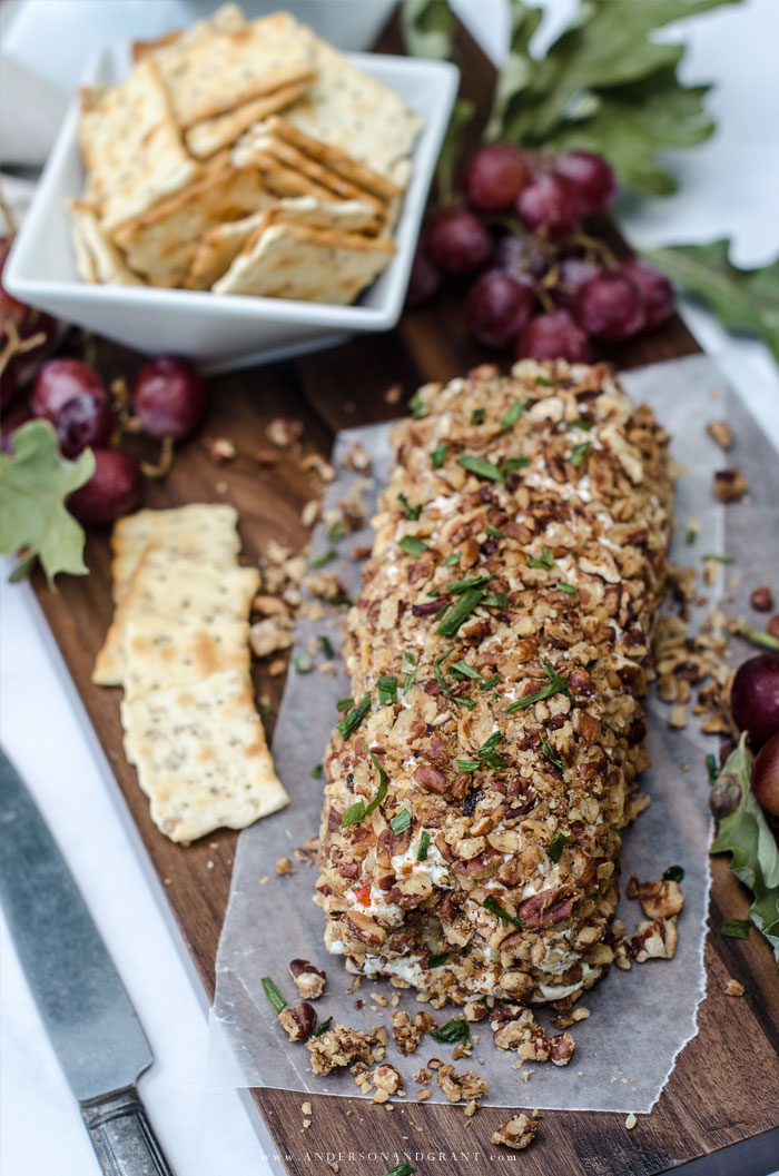 Olive Pecan Cheese Ball