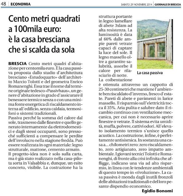 Casa prefabbricata in legno i costi di prima casa passiva studio di architettura a verona - Casa passiva prefabbricata ...