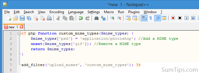 How to Copy Code from Notepad++ with Syntax Highlighting | SumTips