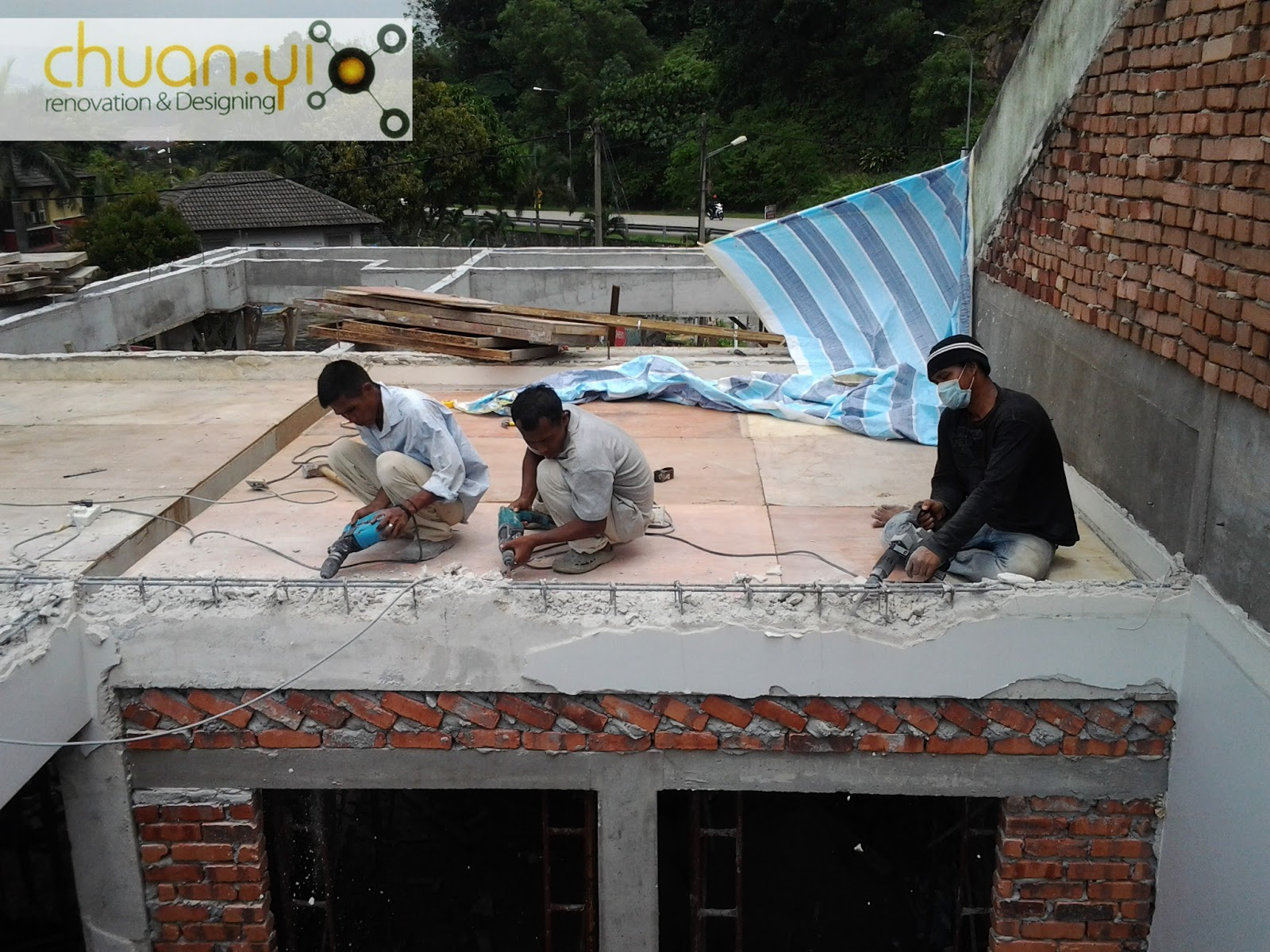Chuan Yi Construction Amp Renovation Sdn Bhd Attic Floor