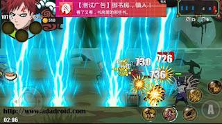 Sprite Senki : Sasuke Cursed Skill Rep Gaara by Ridwan