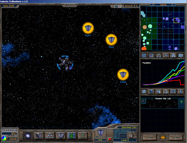 Star Base | Galactic Civilizations Game Screenshot