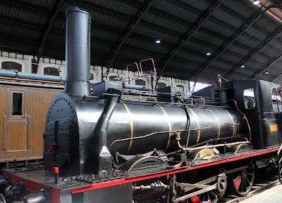 Trenes antiguos. Museo del Ferrrocarril de Madrid