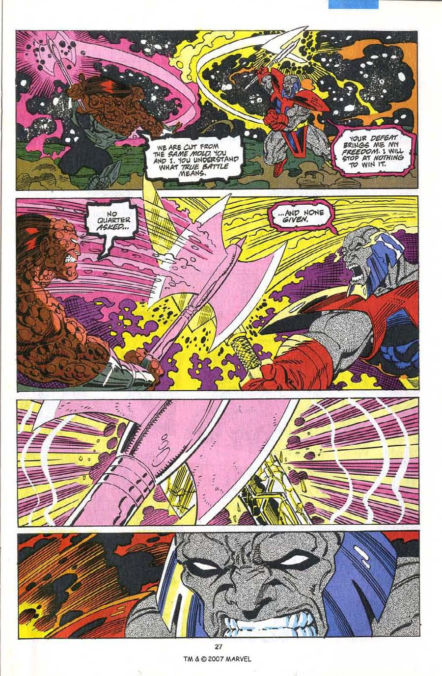 Read online Silver Surfer (1987) comic -  Issue #75 - 29