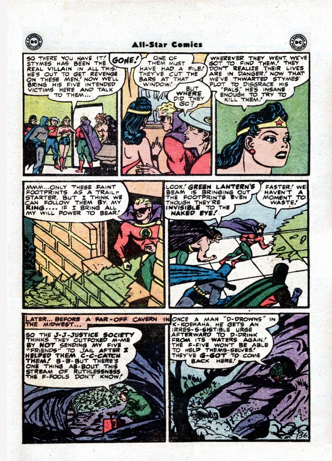 Read online All-Star Comics comic -  Issue #36 - 47