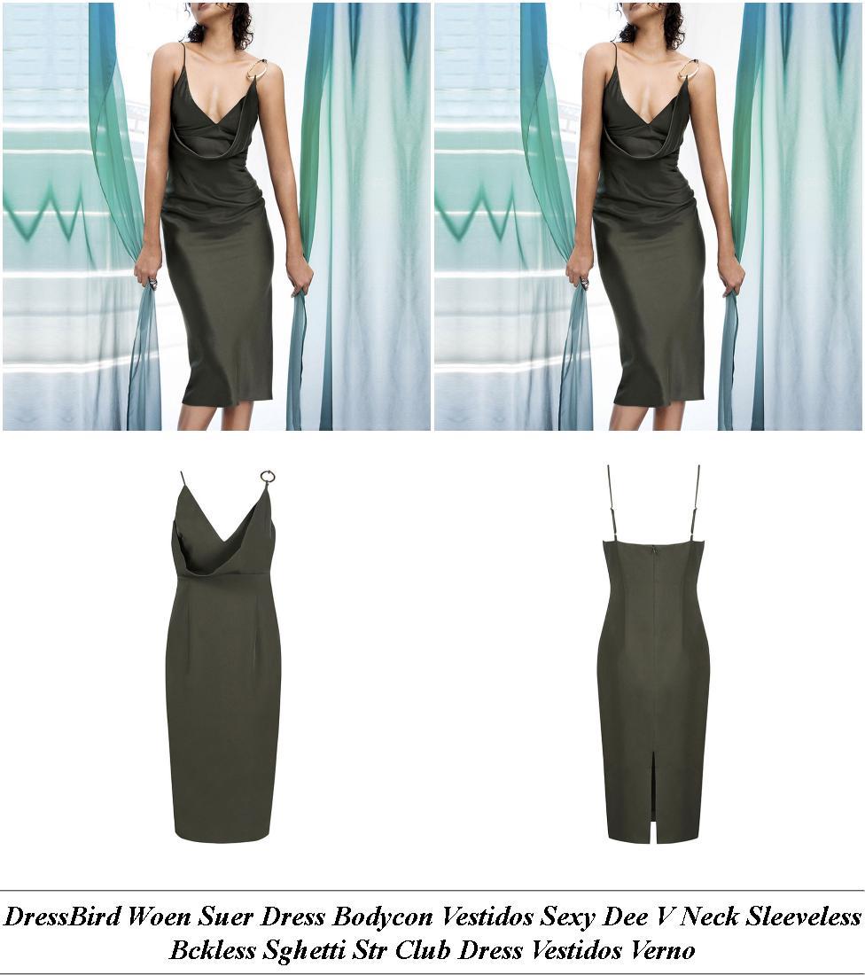 Party Dresses - Clothes Sale Uk - Denim Dress - Cheap Online Clothes Shopping
