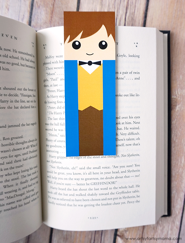 image about Bookmark Printable called No cost Printable Remarkable Beasts Bookmarks artsy-fartsy mama