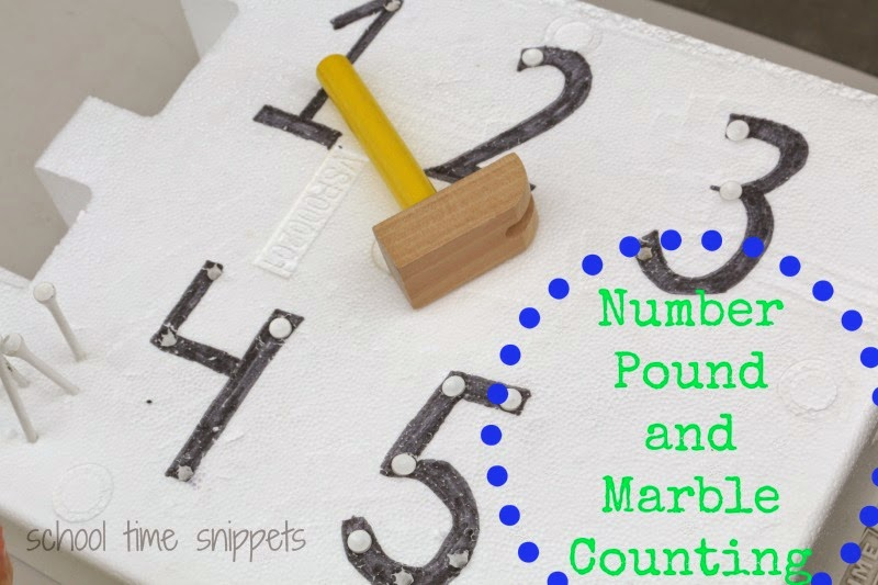 fine motor counting activity for young children