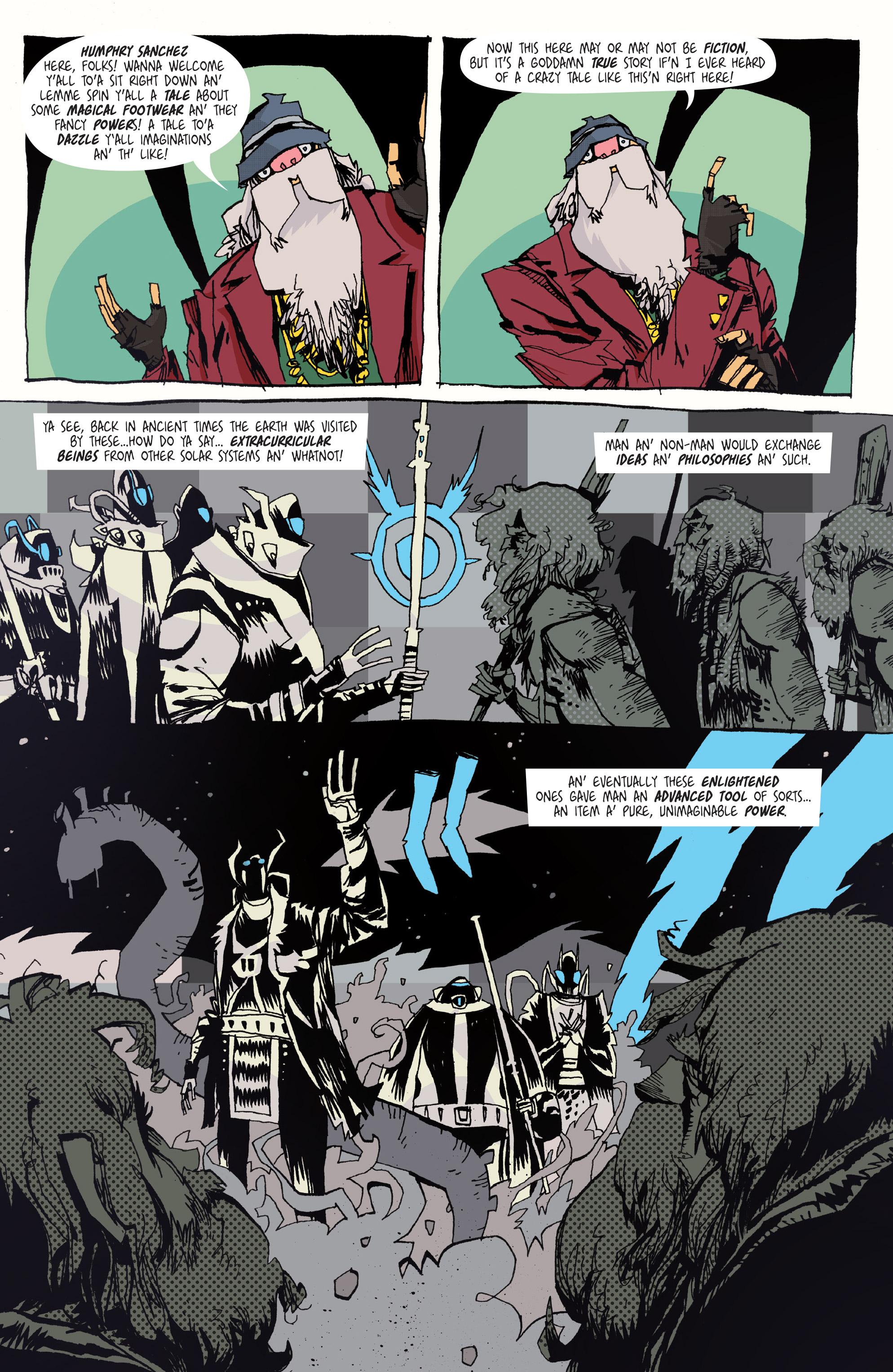 Read online Grrl Scouts: Magic Socks comic -  Issue #2 - 4