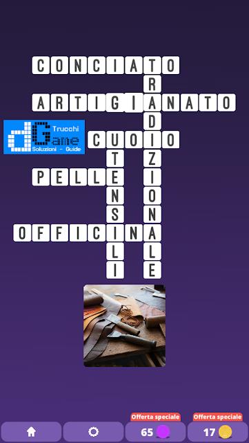 Soluzioni One Clue Crossword livello 26 schemi 7 (Cruciverba illustrato)  | Parole e foto