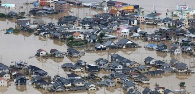 Lebih dari 200 Orang Tewas Akibat Banjir di Jepang