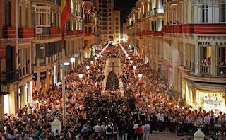 Horarios e Itinerarios Semana Santa Málaga 2019
